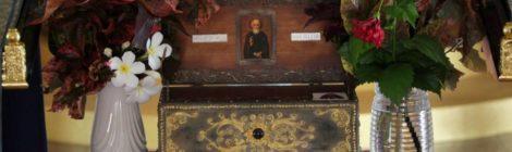 Святыня в нашем храме: преп. Сергий Радонежский