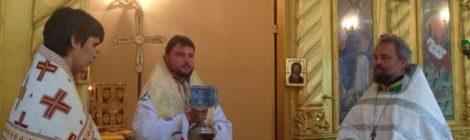 Воскресное богослужение с митрополитом Александром (Драбинко)
