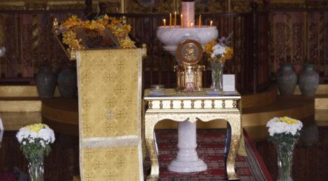 Святыня в храме