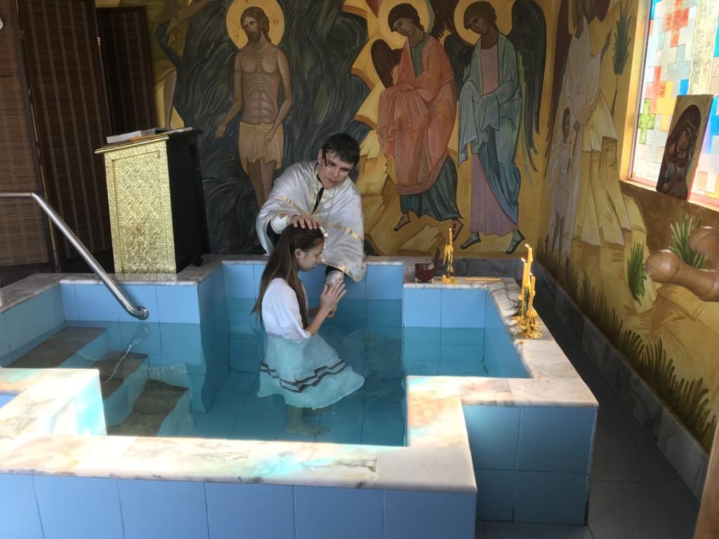 Крещение Irene Khorwichenkul