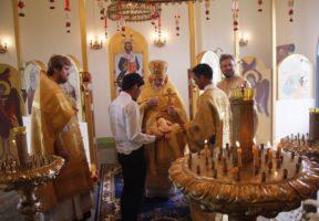 Престольный праздник в храме свт. Иннокентия Московского
