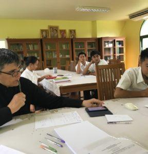 Летняя сессия в Духовном училище